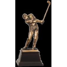 """7S3306 Bronze Male Golfer Resin Award 8 3/4"""""""