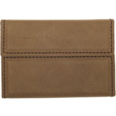 "GFT183 - 3 3/4"" x 2 3/4"" Laserable Leatherette Hard Business Card Holder"