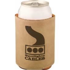 """GFT191 - 3 3/4"""" Laserable Leatherette Beverage Holder"""