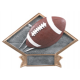 DPS65 Diamond Plate Football Resin