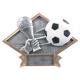 DPS72 Diamond Plate Soccer Resin