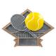 DPS73 Diamond Plate Tennis Resin