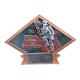 DPS81 Diamond Plate Fireman Resin