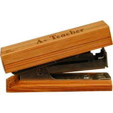 """GFT051 - 7/8"""" x 2 1/4"""" Bamboo Mini Stapler"""