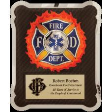 HER102 Firefighter/Medical/EMT Hero Plaque.