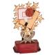 RSB12 Starburst Resin Basketball Figures