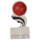 SP152  Basketball Black Splash Sculptured Ice Awards