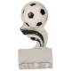 SP153  Soccer Black Splash Sculptured Ice Awards
