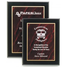 CP810RM Red Marble Acrylic Plaque